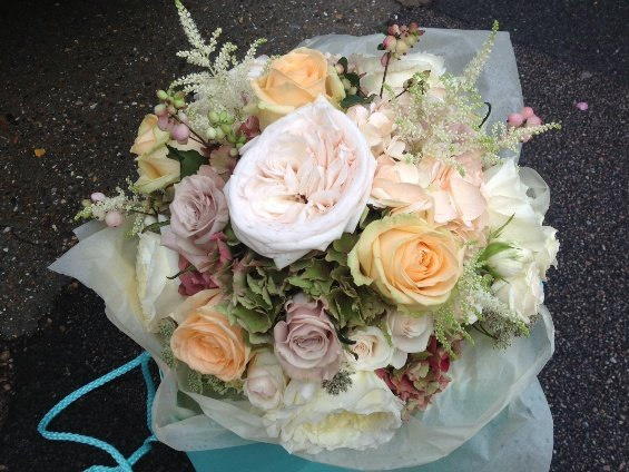 Bridal Bouquet, Summer Weddings, Vintage floral designs, Gaynes Park, Sweet Pea Floral