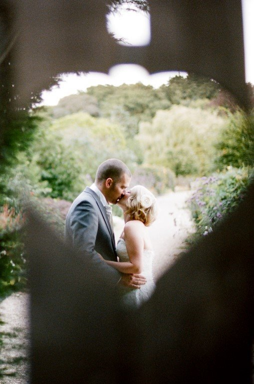 Vintage wedding, September flowers, Gaynes Park