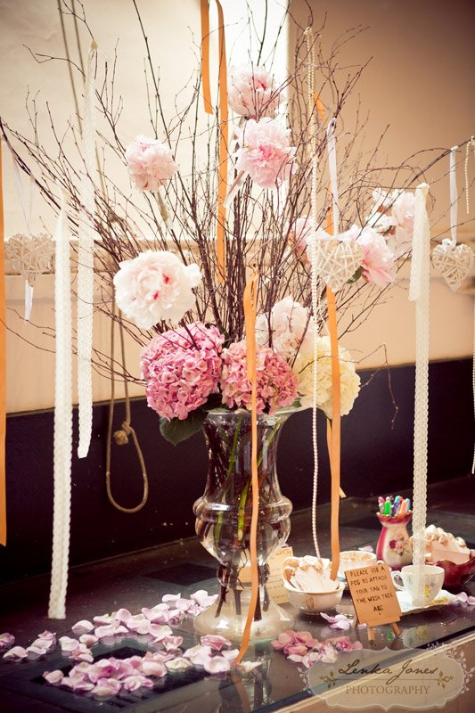 Wish tree, wedding decor ideas