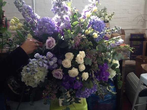 Hackney wedding florist