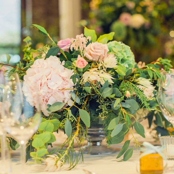 wedding table-centre