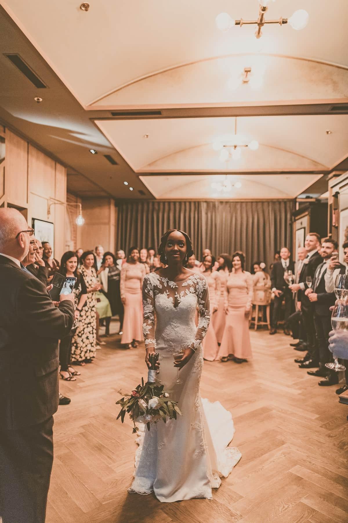 Pronovias-bride-modern-London-wedding-45