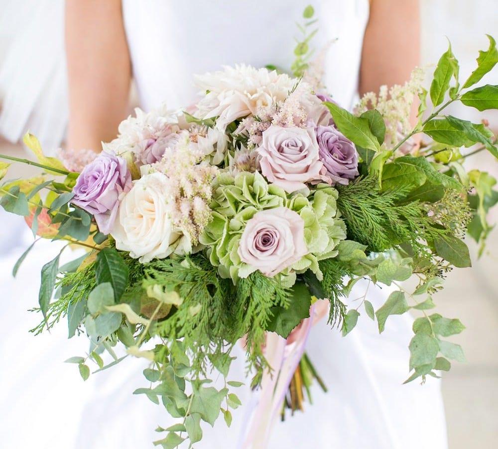 London wedding florist bouquet